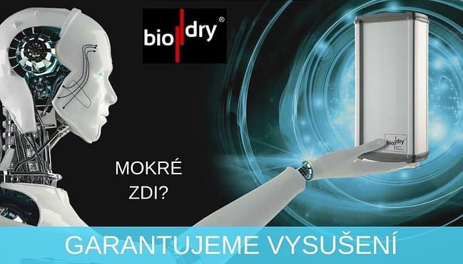 Biodry garance vysušení